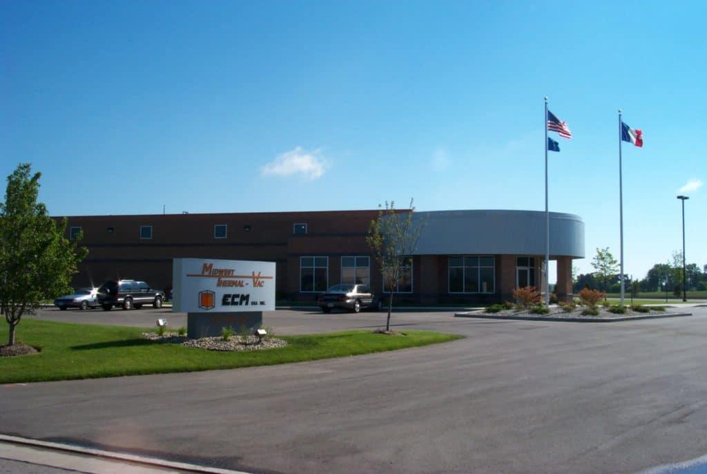 Fondation d'ECM USA à Kenosha Wisconsin