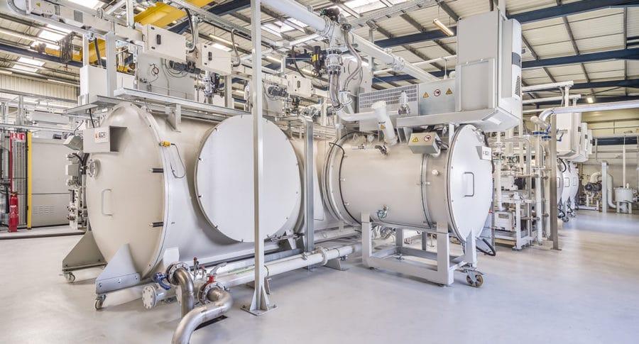 multi chamber lpc installation - Installation Cémentation BAsse Pression (ICBP) Flex | ECM Technologies